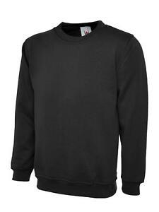 Uneek-UC203-Cuello-Redondo-Clasico-Workwear-Sudaderas-Varios-Colores