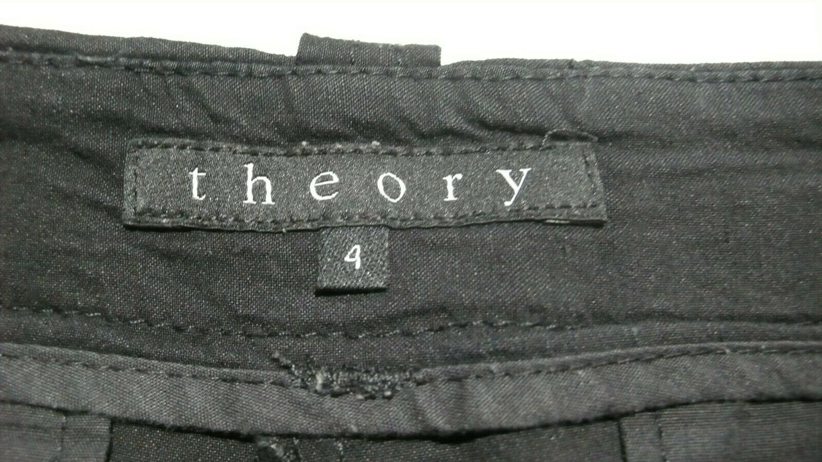 THEORY  Women's Tailored Linen Blend Unlined Shor… - image 10