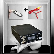 Compact Netzgerät Tattoo  Set inkl. Fußschalter & Clip Cord *TOP AKTONSPREIS*