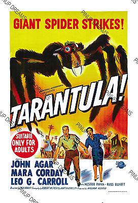 VINTAGE TARANTULA SPIDER MOVIE POSTER A2 PRINT