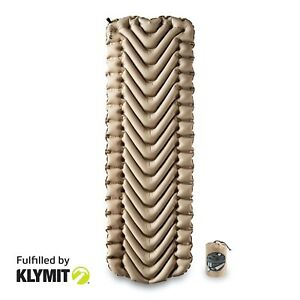 KLYMIT-INSULATED-Static-V-RECON-Light-Sleeping-Camping-Pad-NEW-FACTORY-SECOND