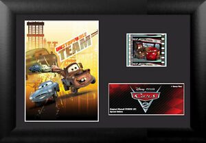 Film Cell Genuine 35mm Framed & Matted Disney Pixar Cars 2 Mater USFC5630