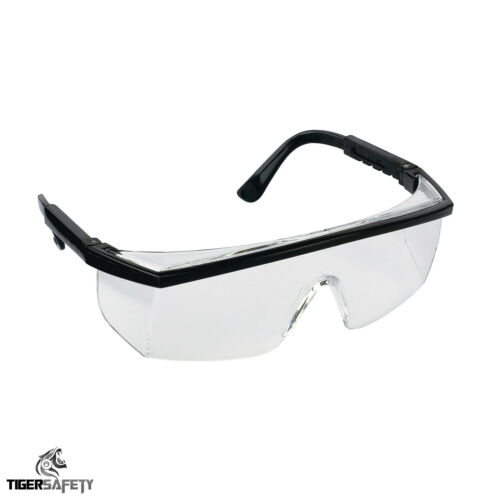 Proforce FP04 Clear Protective Wraparound Safety Glasses Lab Specs Eyewear PPE