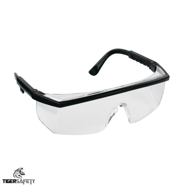 Proforce FP03 Clear Protective Safety Coverspecs Eyewear Glasses Eyeglasses PPE