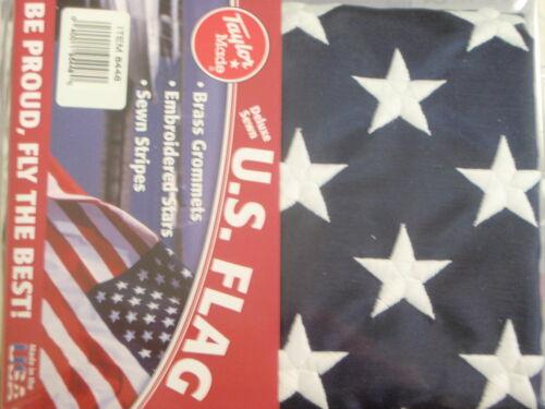 FLAG US 50 STAR TAYLOR MADE 32 8448 30X48 SEWN NYLON BOAT BOATINGMALL  PART