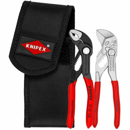 Knipex 00 20 72 V04 Wasserpumpenzange Cobra Zangenschlüssel in Gürteltasche