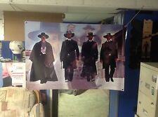 HUGE 46x31 TOMBSTONE Vinyl BANNER POSTER western. film movie. art young guns
