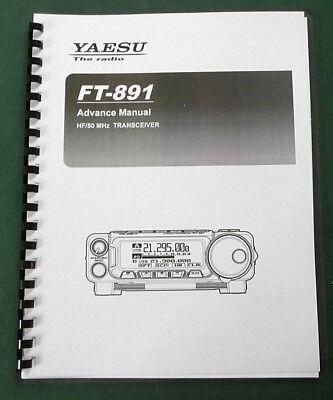 High Quality ~ Yaesu FT-891 Operating Manual