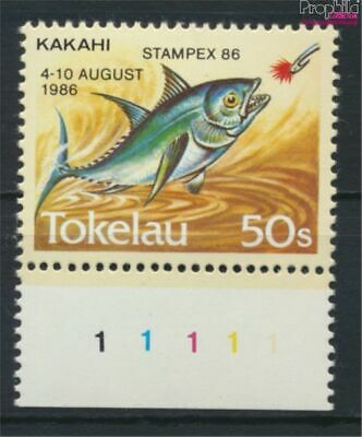 complete Issue 9305174 High Quality Goods Intelligent Tokelau 129 Unmounted Mint / Never Hinged 1986 Stamp