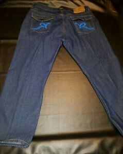 Roca-Wear-Classic-Fit-Jeans-Dark-Wash-Size-46-x-34-Excellent-condition
