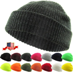 Warm-Winter-Knit-Cuff-Beanie-Cap-Fisherman-Watch-Cap-Daily-Ski-Hat-Skully