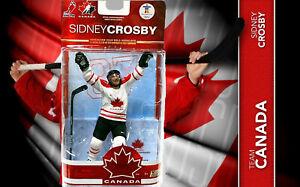Mcfarlane-Team-Canada-2010-Olympia-Vancouver-Sidney-Crosby-Neuf-Emballage