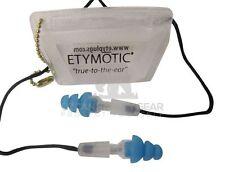 Musicians Earplugs Etymotic Research ER20-SMB-C Hi-Fi Standard Fit ReUsable Blue
