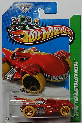2013 Hot Wheels HW IMAGINATION T-Rextroyer Col. #66 (Red Version)
