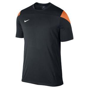 f612b39796e6cf Nike Tiempo Squad 2013 Dri-Fit Soccer Training Fitness Top New Black    Orange