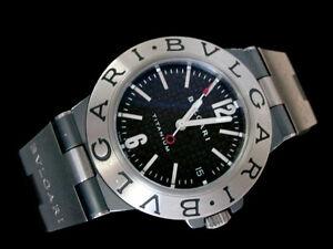 bvlgari diagono titanium men 039 s date watch bvlgari diagono image is loading bvlgari diagono titanium men 039 s date watch