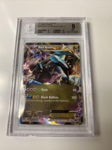 2013 Kyurem EX Rare Holo Black & White Plasma Blast Pokémon Card #30 BGS 9 MINT!