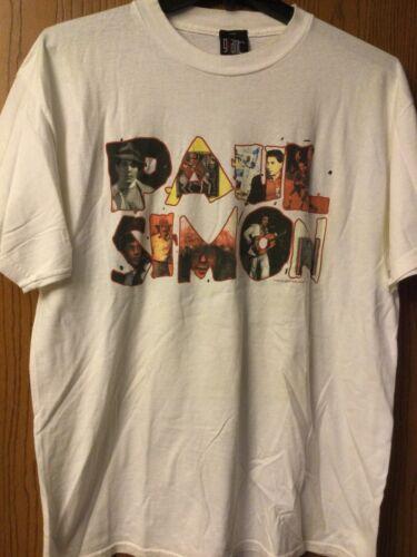Paul Simon - 1999 White Tour Shirt.  XL.