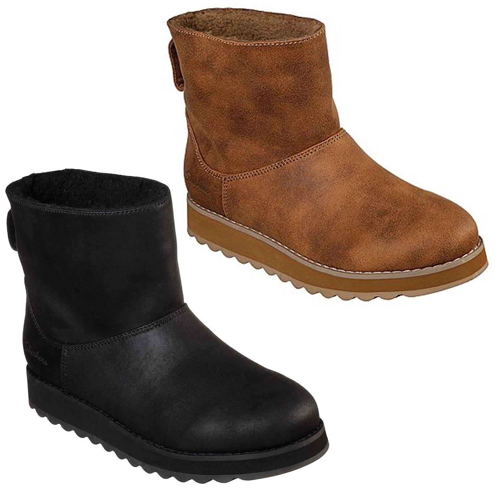 Skechers Keepsakes 2.0 - Cloud Peak Boots Womens Lined Memory Foam Shoes 44939