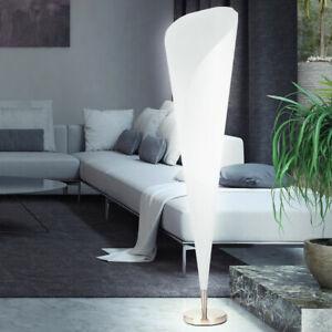 Détails sur Moderne Design Lampadaire Nickel Lampadaire Lampadaire Salon  Grand Lumière