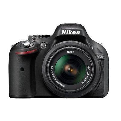 Nikon D5200 with 18-55mm VR Lens