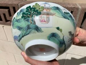 Estate-Collection-Chinese-Antique-Qing-Dynasty-19th-Porcelain-Bowl-with-Daoguang