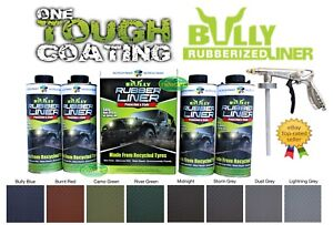 BULLY-LINER-DIY-BED-LINER-KIT-UTE-TUB-COATING-PACK-ATTACHABLE-GUN-ANY-COLOUR