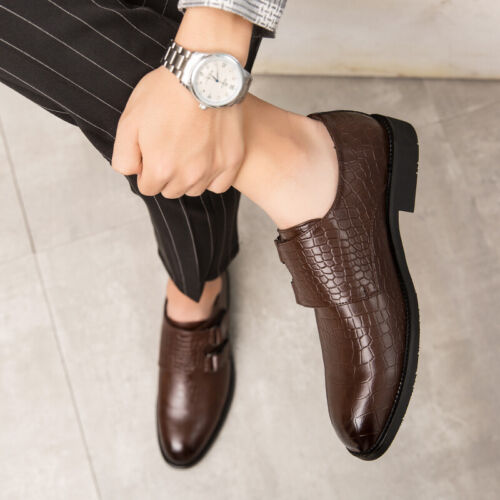 Details about  /Mens British Low Top Leather Shoes Wedding Business Pointy Toe Evening Party New