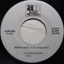 SIANO ARIAS y SU CONJUNTO: LA BODA NEGRA latin 45 ALGAR rare HEAR IT