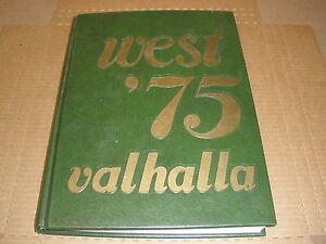 1975 Valhalla West High School Bakersfield Ca Yearbook Ebay