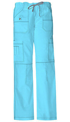 Scrubs Dickies Gen Flex Youtility Cargo Pant 857455 Icy Turquoise  FREE SHIPPING