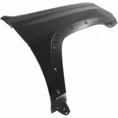 Front RH Fender W//O Signal Light Hole and Antenna Hole Fits 4Runner TO1241252