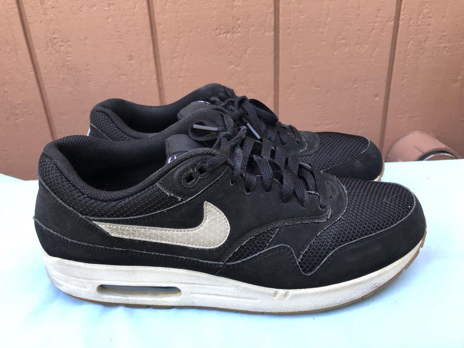 online store 6a0bc abe4c Nike Hombre Hombre Hombre Air Max 1 Essential US 11 537383 026 Negro    light color