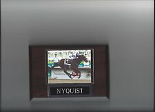 NYQUIST PLAQUE HORSE RACING TURF
