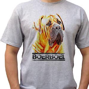 Boerboel-grey-t-shirt-top-tee-dog-design-mens-sizes