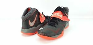 size 40 691bf dbc80 Details about NIKE LEBRON ZOOM SOLDIER VII BLACK / WOLF GREY / CRIMSON–SIZE  13 basketball