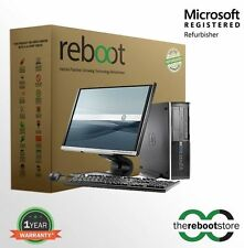 Reboot Extreme Series HP Elite Desktop Combo Intel Core i5 with NEW LED