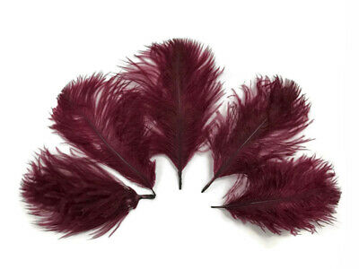White Wholesale Pack Ostrich Small Confetti Feathers Fly Tying Wedding Jewelry
