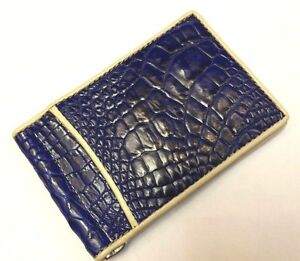 100 Genuine Wallet Crocodile Alligator Skin Leather