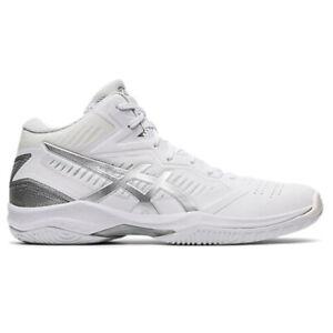 ASICS Gel-HOOP V12 Basketball Shoes Unisex Badminton Indoor White 112012504-101
