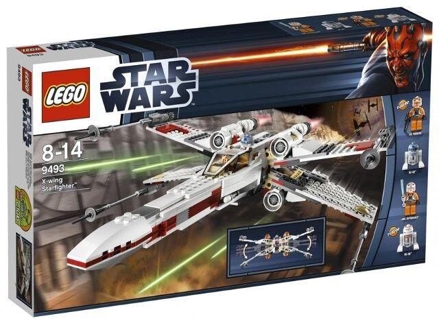 LEGO estrella  guerras X-Wing estrellacombatiente è (9493) RARA smobilizzato Set  il miglior servizio post-vendita