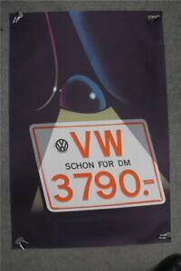 VW-Kaefer-Poster-034-VW-schon-fuer-3790-DM-034-ORIGINAL-VW-RARITAT