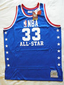 innovative design 1f76a af50e Details about Mitchell Ness M&N Lakers All Star Kareem Abdul Jabbar  Authentic Jersey NWT 56 3X