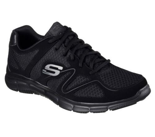 molle Casual Hommes Skechers Chaussures Chemise de 58350 Confortable Bbk Black sport VSUpqzMG