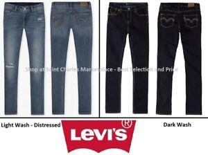 Girls-Levi-039-s-711-Skinny-Jeans-Adjustable-Waist-Dark-or-Light-Wash-Pick-Size