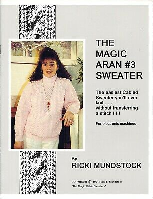 MAGIC CABLE V-NECKS by Ricki Mundstock Easy V-Neck Cables without Transferring