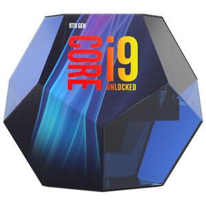 Intel Core i9-9900K 3.60GHz 8 Core Boxed Processor (BX80684I99900K)