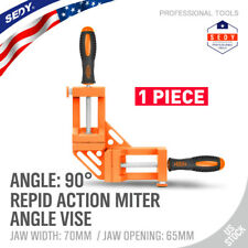 Quick Jaw Right Angle 90 Degree Corner Clamp Carpenter Welding Wood Working