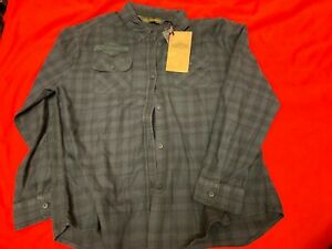 Genuine-Harley-Davidson-Women-039-s-Plaid-Flannel-Relaxed-Fit-Shirt-99035-18VW-XL