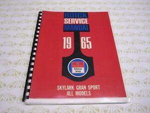 1965 Buick Shop Manual | Gran Sport | Skylark GS. Free Shipping